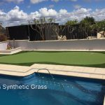 Golf putting green artificial grass